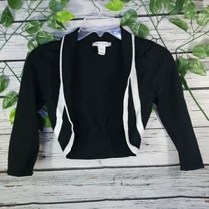 White House Black Market over shoulder cardigan S